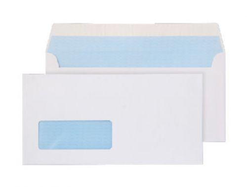 Blake Purely Everyday White Window Peel & Seal Wallet 110X220mm 100Gm2 Pack 500 Code 23884/50 Pr 3P