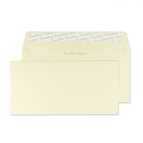 Blake Creative Colour Vanilla Ice Cream Peel & Sea l Wallet 114X229mm 120Gm2 Pack 25 Code 25200 3P