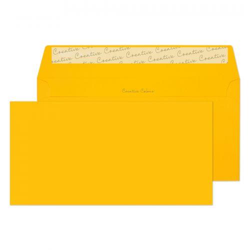 Blake Creative Colour Egg Yellow Peel & Seal Walle t 114X229mm 120Gm2 Pack 25 Code 25204 3P