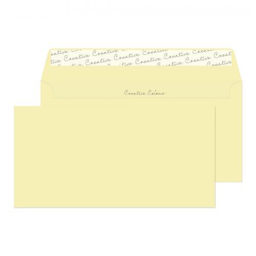 Blake Creative Colour Clotted Cream Peel & Seal Wallet 114X229mm 120Gm2 Pack 25 Code 25253 3P