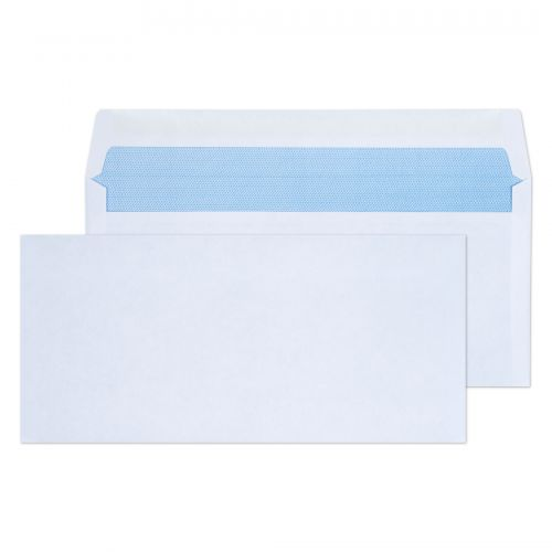 Purely Everyday Wallet Gummed White 80gsm BRE 102x216mm Ref 2700 [Pack 1000] *10 Day Leadtime*