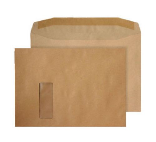 Purely Everyday Mailer Gummed Window Manilla 100gsm C4 229x324mm Ref 2710 Pk 250 *10 Day Leadtime*