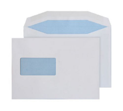 Purely Everyday Mailer Gummed Window White 90gsm C5- 155x220mm Ref 2801 Pk 500 *10 Day Leadtime*