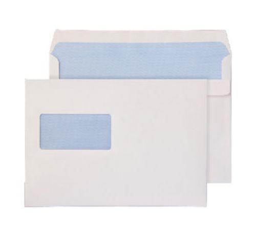 Blake Purely Everyday White Window Self Seal Wallet 162X238mm 90Gm2 Pack 500 Code 2809 3P