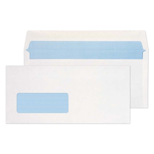 Blake Purely Everyday White Window Gummed Wallet 1 02X216mm 80Gm2 Pack 1000 Code 2901Bre 3P