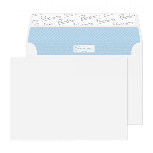 Blake Premium Office Ultra White Wove Peel & Seal Wallet 114x162mm 120gsm Pack 500 Code 31215