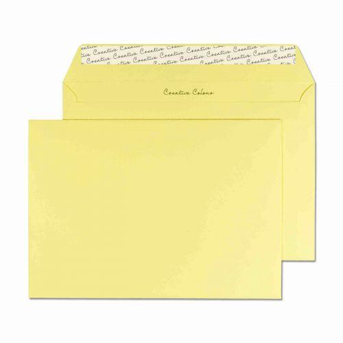 Blake Creative Colour Lemon Yellow Peel & Seal Wal let 162X229mm 120Gm2 Pack 500 Code 316 3P