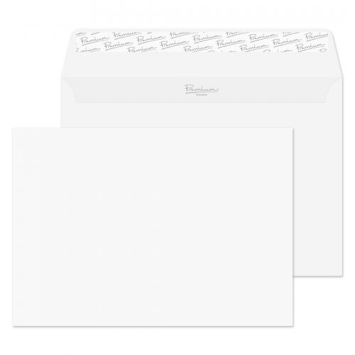 Essential C5 Ice White Wove Peel & Seal Wallet Envelopes 162x229mm 120gsm (Pack 500) Code 31707