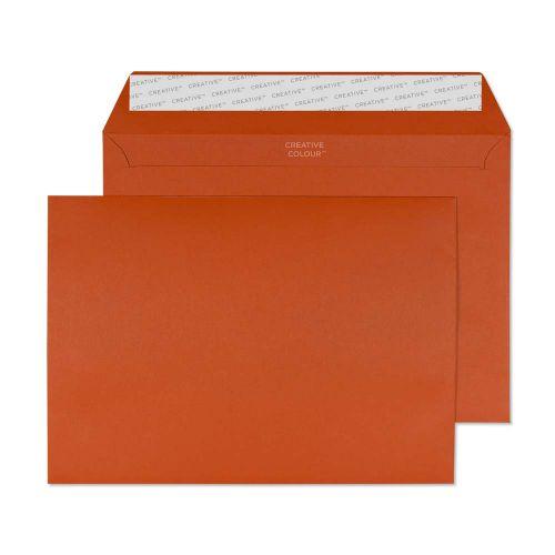Blake Creative Colour Marmalade Orange Peel & Seal  Wallet 162X229mm 120Gm2 Pack 500 Code 328 3P