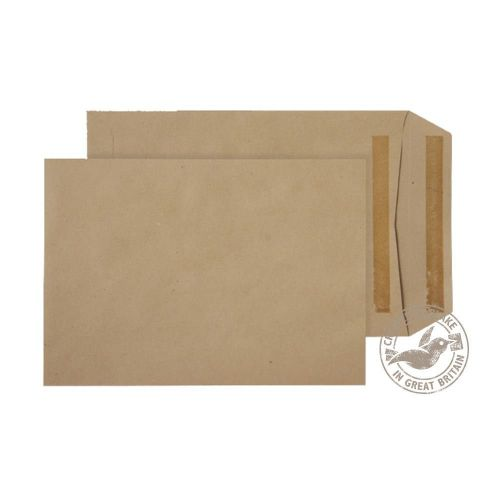 Blake Purely Everyday Manilla Self Seal Pocket 240 X165mm 115Gm2 Pack 500 Code 3330 3P