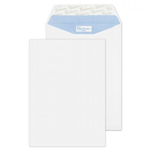 Blake Premium Office Pocket Envelope C5 Peel and Seal Plain 120gsm Ultra White (Pack 500)
