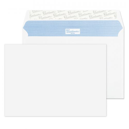 Blake Premium Office Ultra White Wove Peel & Seal Wallet 162x229mm 120gsm Pack 500 Code 34215