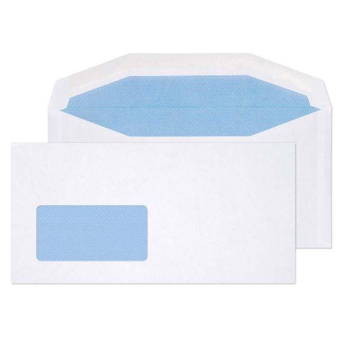 Blake Purely Everyday White Window Gummed Mailer 114x229mm 80gsm Pack 1000 Code 3504