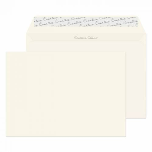 Blake Creative Colour Milk White Peel & Seal Wallet 162X229mm 120Gm2 Pack 500 Code 351 3P