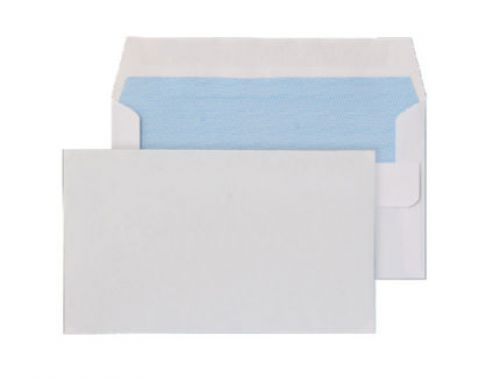 Blake Purely Everyday Wallet Envelope 89x152mm Self Seal Plain 80gsm White (Pack 1000)