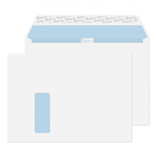 Blake Premium Office Ultra White Wove Window Peel & Seal Wallet 229X324mm 120G Pk250 Code 36216 3P
