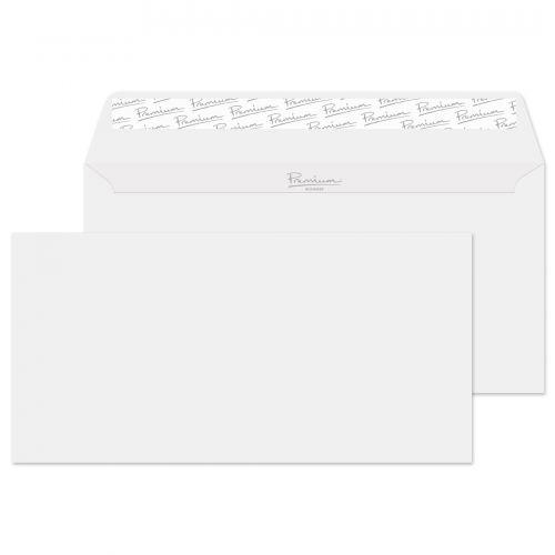 Blake Premium Business Diamond White Smooth Peel & Seal Wallet 110X220mm 120G Pk50 Code 36255 3P