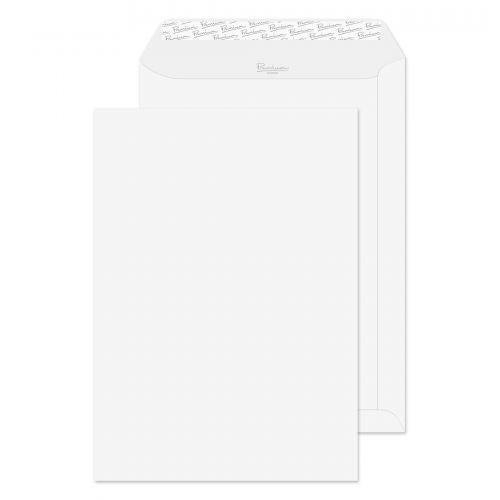 Blake Premium Business Diamond White Smooth Peel & Seal Pocket 324X229mm 120G Pk250 Code 36891 3P