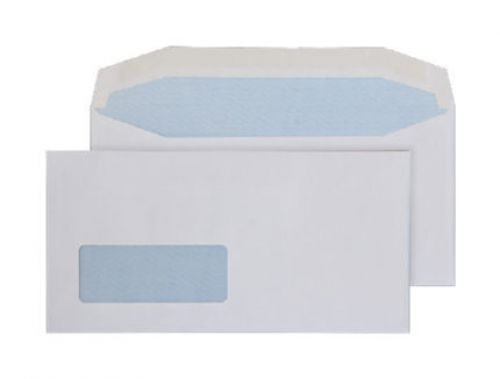Blake Purely Everyday White Window Gummed Mailer 110X220mm 90Gm2 Pack 1000 Code 3702 3P