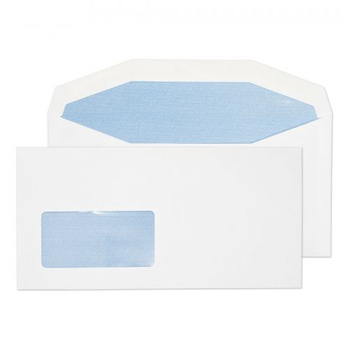 Blake Purely Everyday White Window Gummed Mailer 114X229mm 90Gm2 Pack 1000 Code 3704 3P