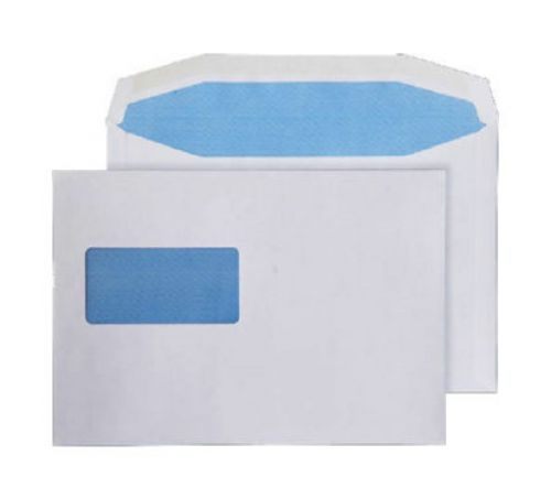 Purely Everyday Mailer Gummed High Window White 90gsm C5 162x229 Ref 3706 Pk 500 *10 Day Leadtime*