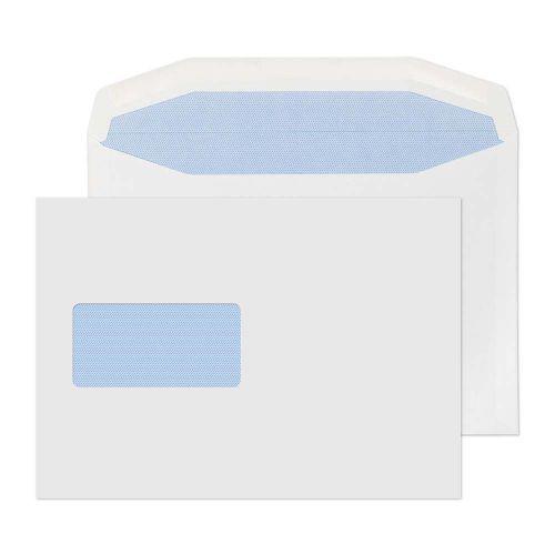 Blake Purely Everyday White Window Gummed Mailer 162x229mm 90gsm Pack 500 Code 3708
