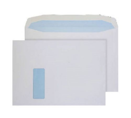 Purely Everyday Mailer Gummed Window White 100gsm C4 229x324mm Ref 3710W Pk 250 *10 Day Leadtime*