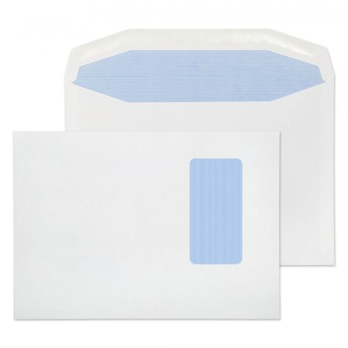 Blake Purely Everyday White Window Gummed Mailer 1 62X229mm 90Gm2 Pack 500 Code 3805 3P