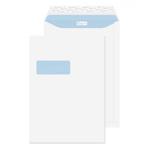 Blake Premium Office Ultra White Window Peel & Sea l Pocket 352X250mm 120Gm2 Pack 250 Code 38116 3P