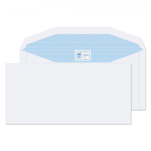 Blake Purely Everyday White Gummed Mailer 114X235mm 90Gm2 Pack 1000 Code 3903 3P