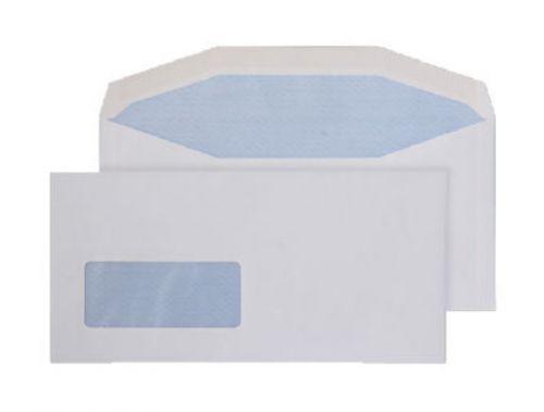 Blake Purely Everyday White Window Gummed Mailer 114X235mm 90Gm2 Pack 1000 Code 3909 3P
