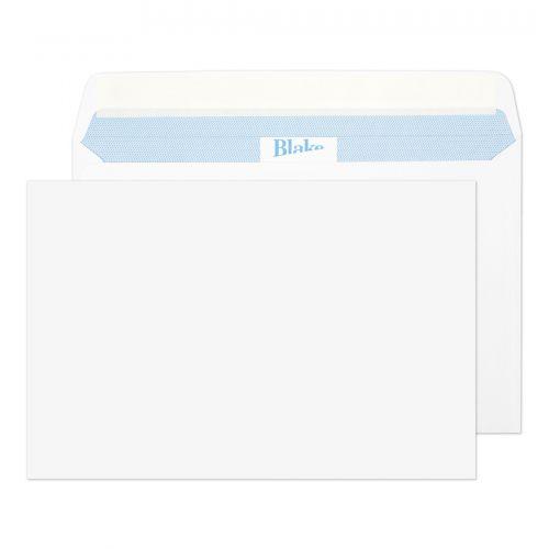 Blake Premium Office Ultra White Wove Peel & Seal Wallet 152X229mm 120Gm2 Pack 500 Code 39115 3P