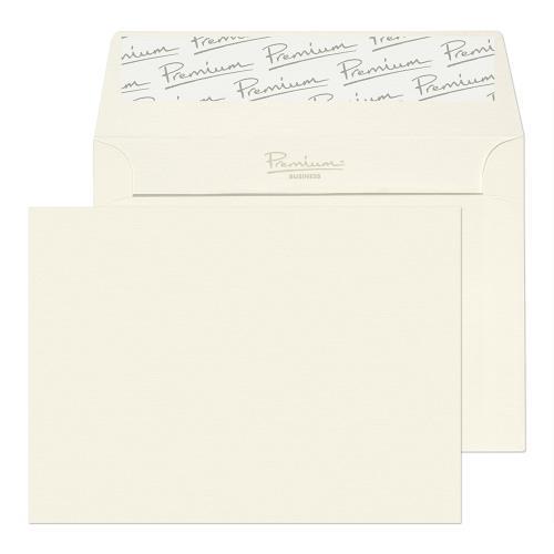 Blake Premium Business High White Laid Peel & Seal Wallet 114X162mm 120Gm2 Pack 25 Code 39154 3P