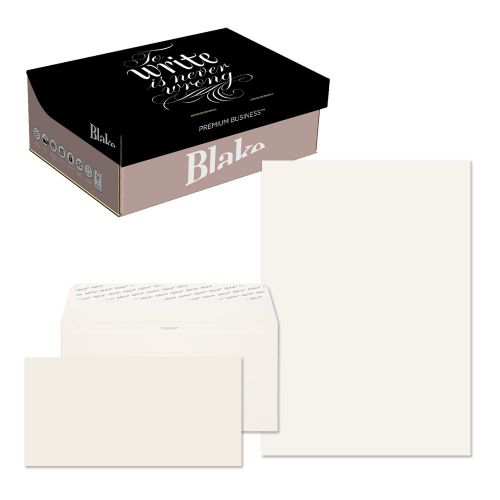 Blake Premium Business High White Laid Peel & Seal SoHo Box 210x297mm 120gsm Pack 250 Code 39670