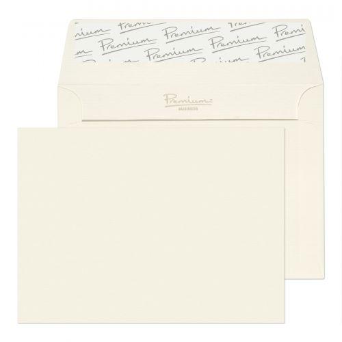 Blake Premium Business High White Laid Peel & Seal  Wallet 114X162mm 120Gm2 Pack 500 Code 39880 3P
