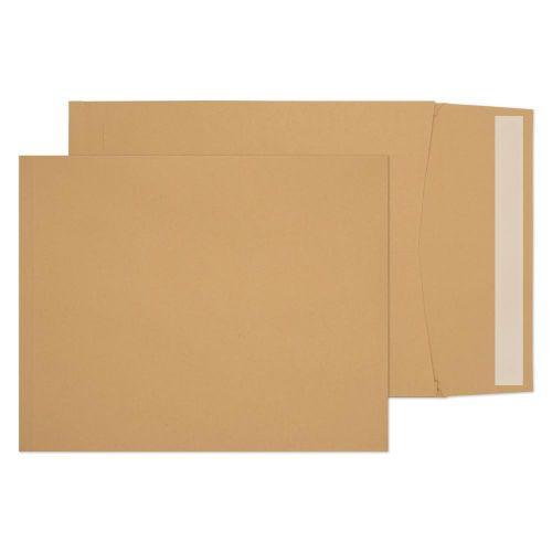 Blake Purely Packaging Manilla Peel & Seal Gusset Pocket 305X250X25mm 140Gm2 Pack 125 Code 4040 3P