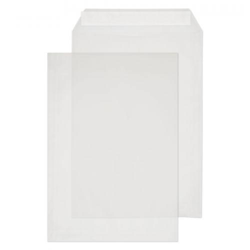 Blake Creative Senses Translucent White Peel & Sea l Pocket 324X229mm 110Gm2 Pack 250 Code 415 3P
