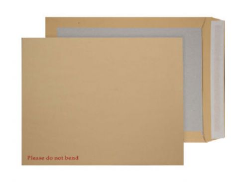 Blake Purely Packaging Manilla Peel & Seal Board Back 450X324mm 120Gm2 Pack 50 Code 4200/50 3P