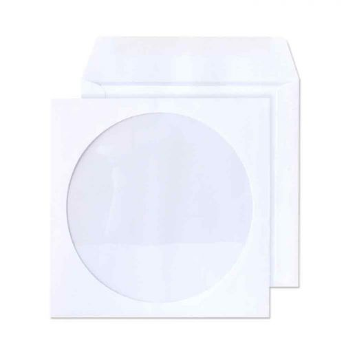 Purely Everyday White Wallet Gum 90gsm Circular Wndw 125x125 Ref 4210TUC Pk1000 *10 Day Leadtime*