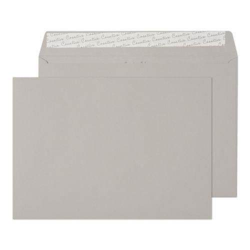 Blake Creative Colour Storm Grey Peel & Seal Wallet 229X324mm 120Gm2 Pack 250 Code 425 3P