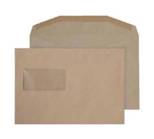 Purely Everyday Mailer Gummed High Wndw Manilla 80gsm C5+ 162x235 Ref 4409 Pk500 *10 Day Leadtime*