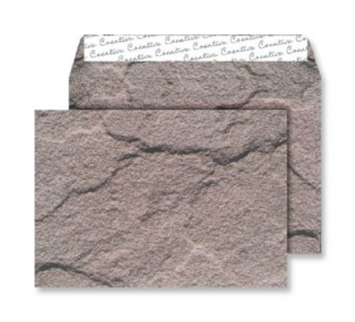 Blake Creative Senses Dartmoor Granite Peel & Seal Wallet 162X229mm 135Gm2 Pack 20 Code 44Nt356 3P