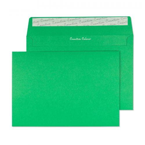 Blake Creative Colour Avocado Green Peel & Seal Wallet 162x229mm 120gsm Pack 25 Code 45308
