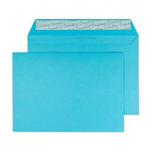 Blake Creative Colour Cocktail Blue Peel & Seal Wa llet 162X229mm 120Gm2 Pack 25 Code 45309 3P