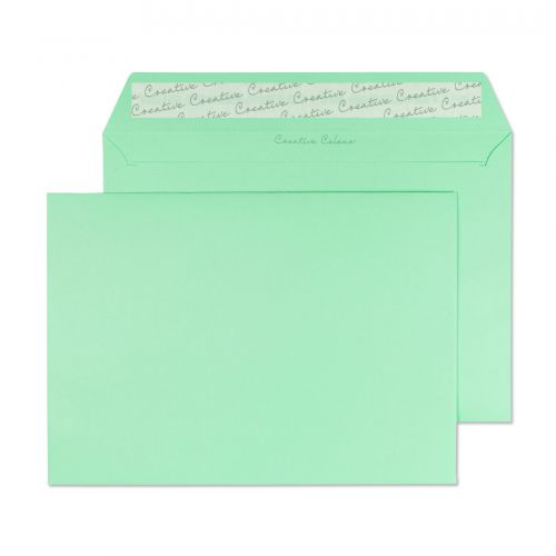 Blake Creative Colour Spearmint Green Peel & Seal Wallet 162X229mm 120Gm2 Pack 25 Code 45317 3P