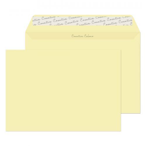 Blake Creative Colour Clotted Cream Peel & Seal Wallet 162X229mm 120Gm2 Pack 25 Code 45353 3P