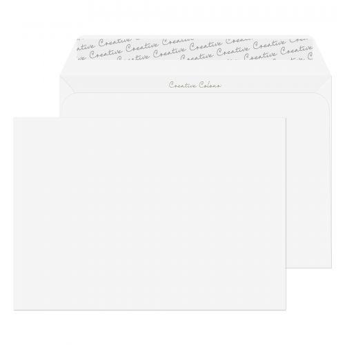 Blake Creative Colour Chalk White Peel & Seal Wall et 162X229mm 120Gm2 Pack 25 Code 45355 3P