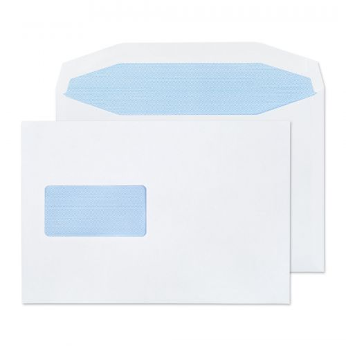 Purely Everyday Mailer Gummed Window White 90gsm C5+ 162x238mm Ref 4708 Pk 500 *10 Day Leadtime*