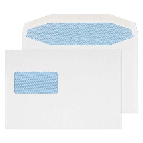 Blake Purely Everyday White Window Gummed Mailer 162x238mm 90gsm Pack 500 Code 4709