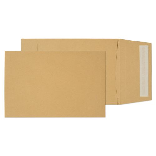 Blake Purely Packaging Pocket Gusset Envelope C5 Peel and Seal Plain 25mm Gusset 120gsm Manilla (Pack 125)